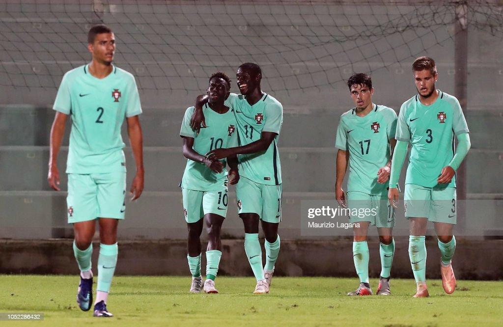 Italy U20 v Portugal U20 : News Photo