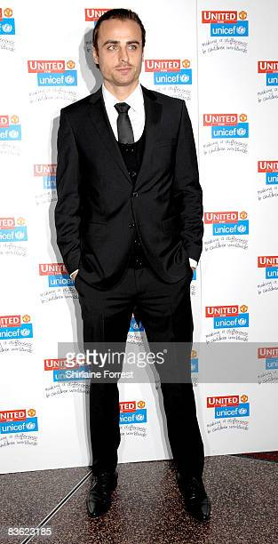 Dimitar Berbatov attends the Manchester United `United for UNICEF' Gala Dinner at Manchester United Museum on November 9 2008 in Manchester England