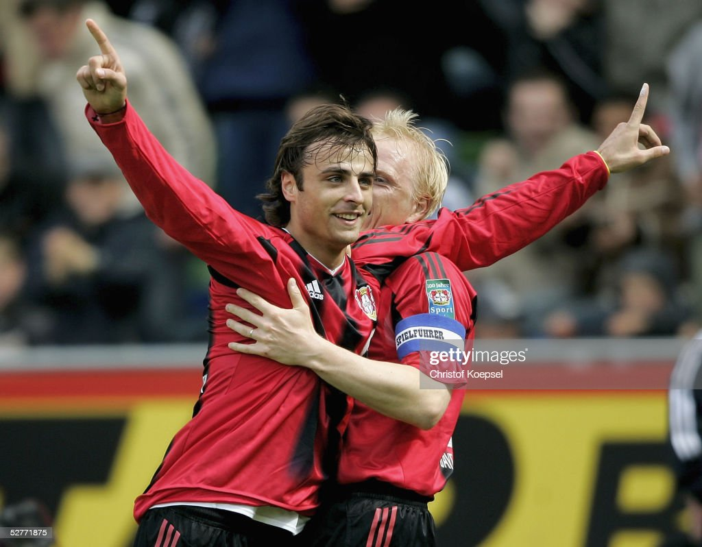 Bayer Leverkusen v Hansa Rostock : News Photo