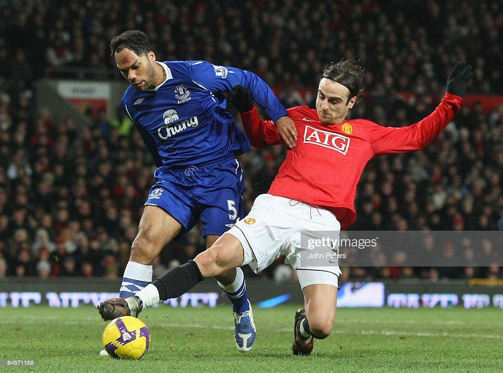 Manchester United v Everton : Foto di attualità