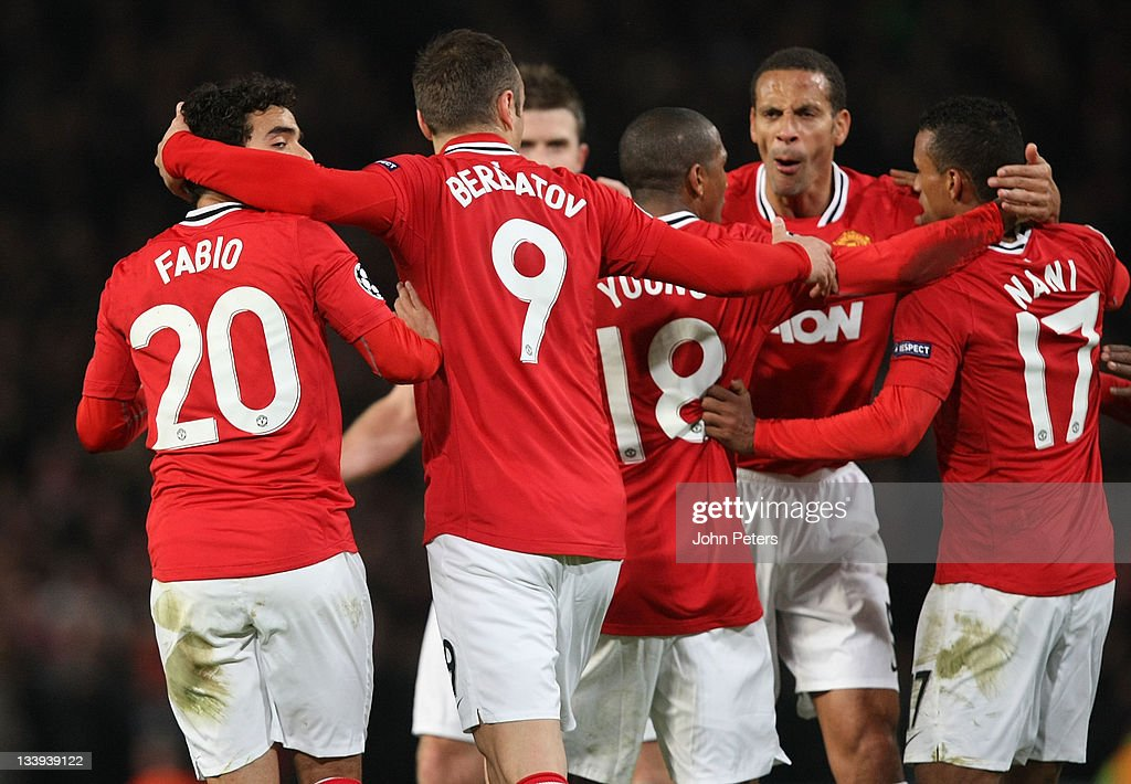 Manchester United FC v SL Benfica - UEFA Champions League