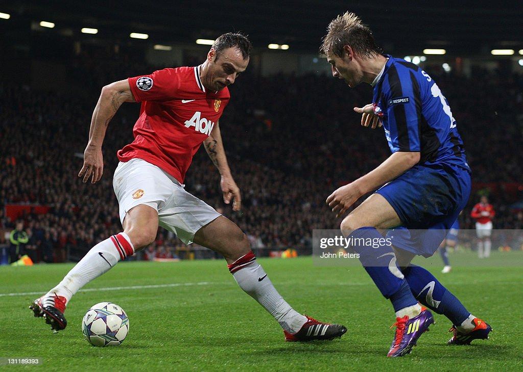 Manchester United FC v FC Otelul Galati - UEFA Champions League : News Photo