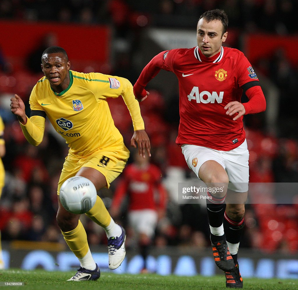 Manchester United v Crystal Palace - Carling Cup Quarter Final
