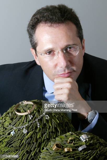 Dimitri Gouten, managing director of Piaget Jewellery, Central. 29 October 2004