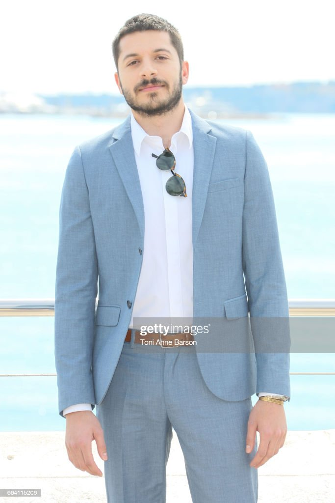 Dimitri Leonidas attends 'Riviera' Photocall as part of MIPTV 2017 on April 3, 2017 in Cannes, France.