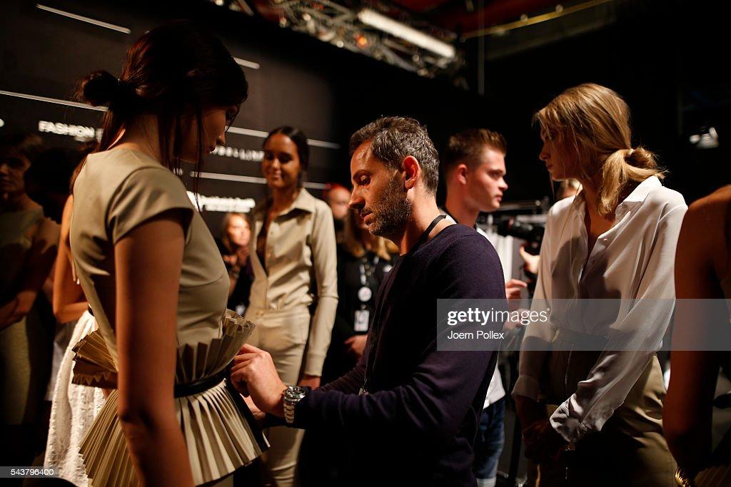 Dimitri Backstage - Mercedes-Benz Fashion Week Berlin Spring/Summer 2017