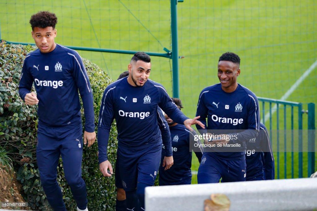 Olympique de Marseille Training Session : Photo d'actualité