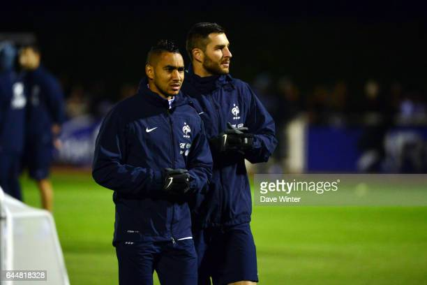 Dimitri PAYET / Andre Pierre GIGNAC Entrainement Equipe de France Photo Dave Winter / Icon Sport