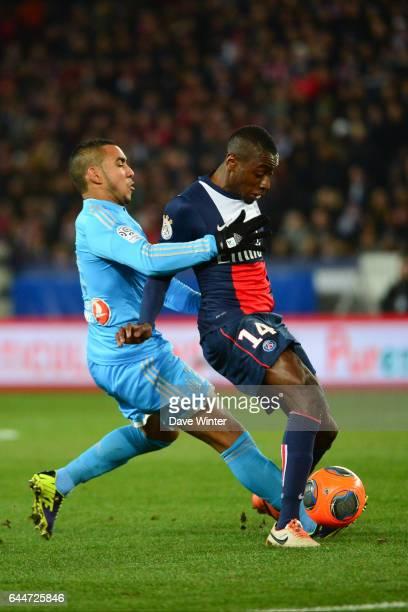 Dimitri PAYET / Blaise MATUIDI Paris Saint Germain / Marseille 27eme journee de Ligue 1 Photo Dave Winter / Icon Sport