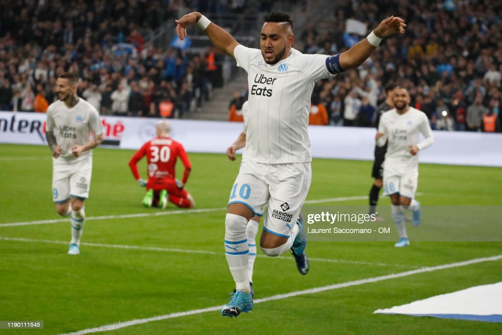 Olympique de Marseille v Nimes Olympique - Ligue 1 : ニュース写真