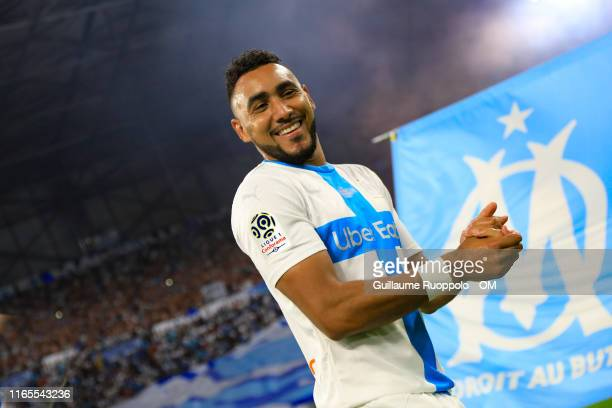 Dimitri Payet during the Ligue 1 match between Olympique Marseille and AS Saint-Etienne at Stade Velodrome on September 1, 2019 in Marseille, France.