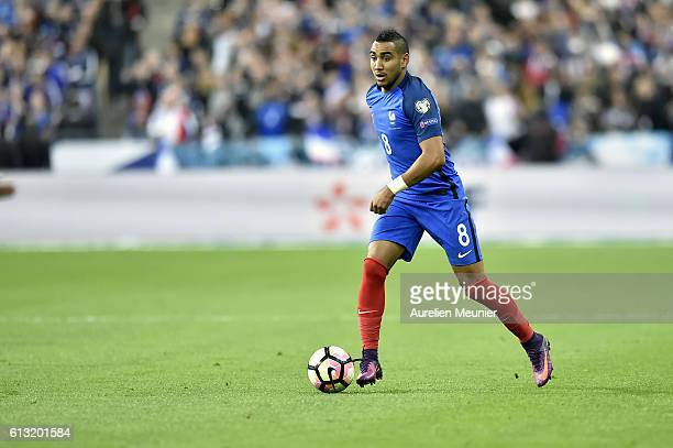 Dimitri Payet of France runs with the ball during the FIFA 2018 World Cup Qualifier between France and Bulgaria at Stade de France on October 7 2016...