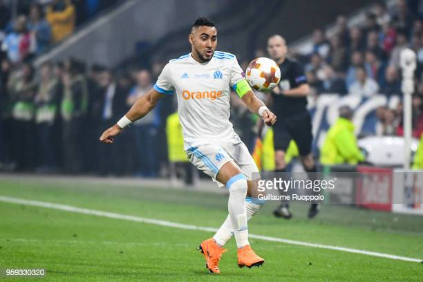 Dimitri Payet of Marseille during the Europa League Final match between Marseille and Atletico Madrid at Groupama Stadium on May 16 2018 in Lyon...