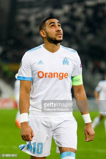 Dimitri Payet of Marseille during the Europa League match between Marseille and Braga at Stade Velodrome on February 15 2018 in Marseille France