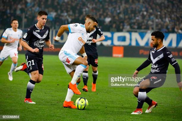 Dimitri Payet of Marseille during the Ligue 1 match between Olympique Marseille and FC Girondins de Bordeaux at Stade Velodrome on February 18 2018...