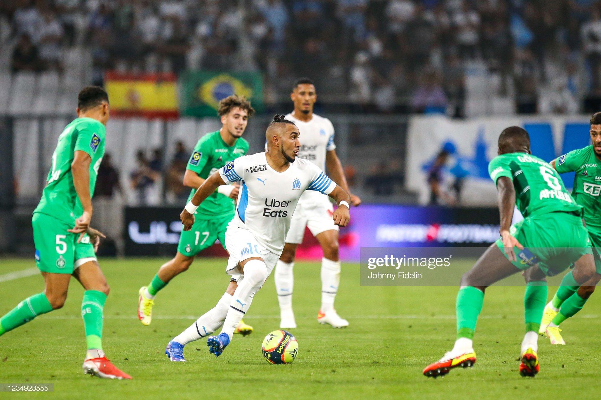 Olympique de Marseille v AS Saint Etienne - Ligue 1 Uber Eats : News Photo