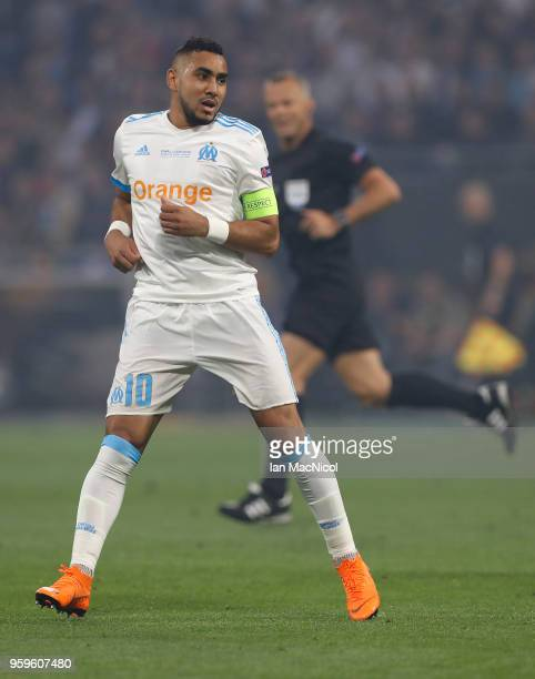 Dimitri Payet of Olympique de Marseille is seen during the UEFA Europa League Final between Olympique de Marseille and Club Atletico de Madrid at...