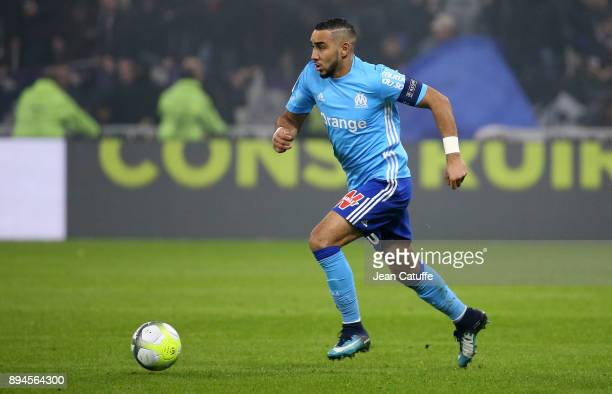 Dimitri Payet of OM during the French Ligue 1 match between Olympique Lyonnais and Olympique de Marseille at Groupama Stadium on December 17 2017 in...