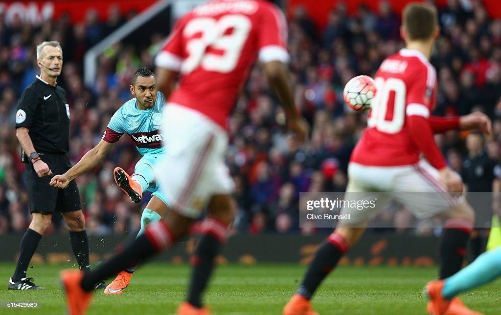 Manchester United v West Ham United - The Emirates FA Cup Sixth Round : News Photo