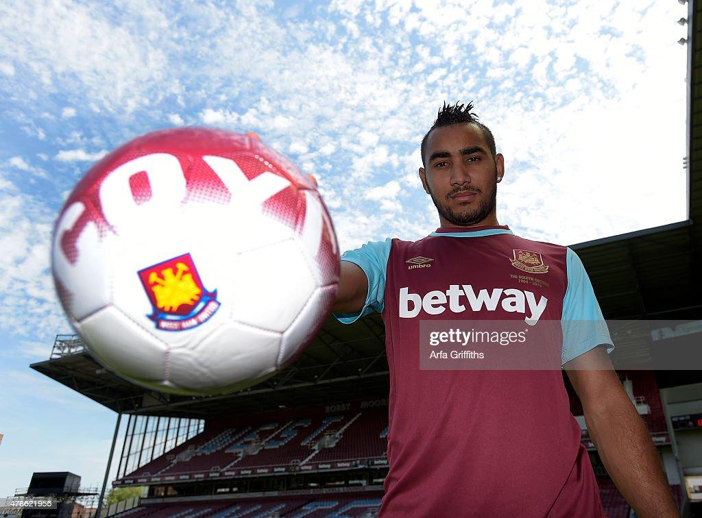 West Ham United Unveil New Signing Dimitri Payet : News Photo