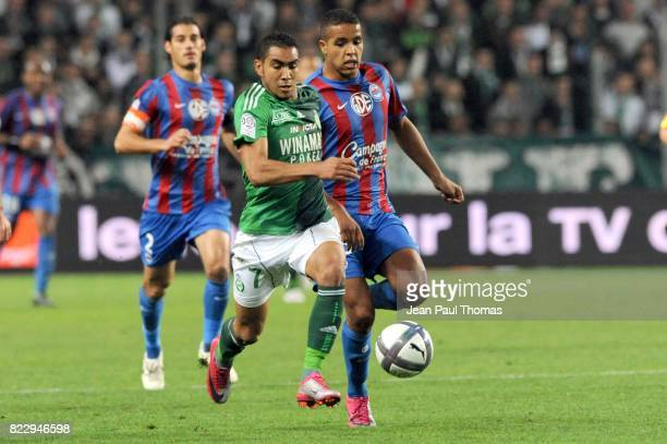 Dimitri PAYET / Youssef EL ARABI Saint Etienne / Caen 10e journee Ligue 1