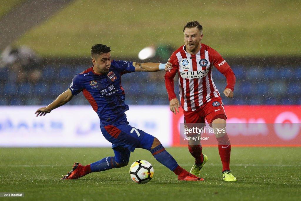 A-League Rd 9 - Newcastle v Melbourne