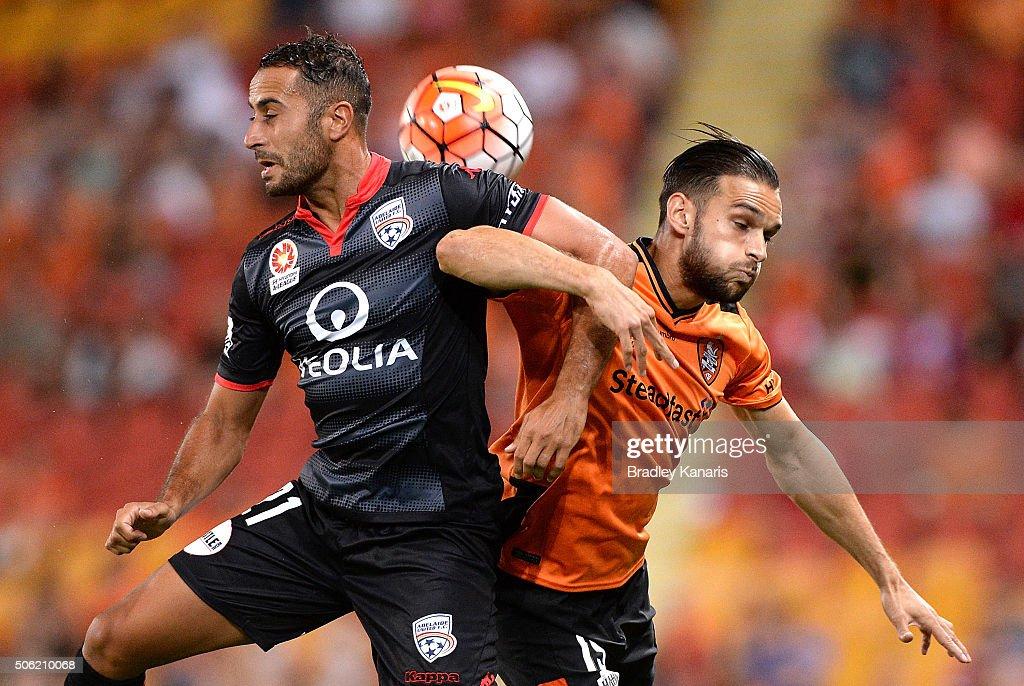 A-League Rd 16 - Brisbane v Adelaide