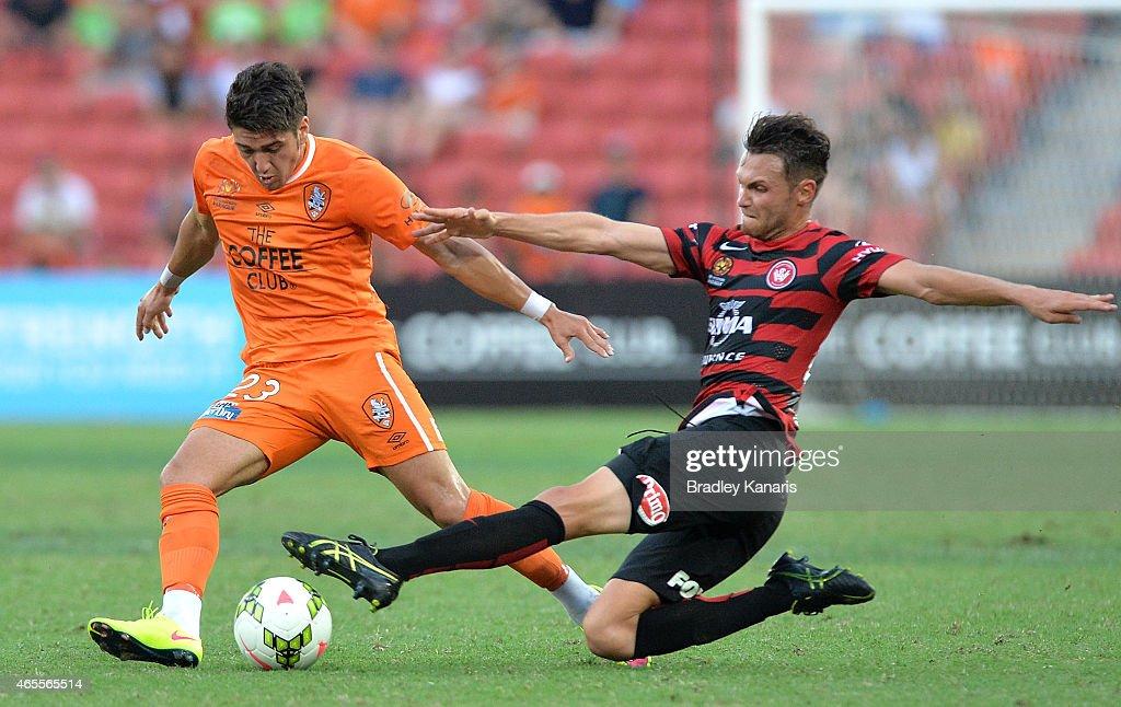 A-League Rd 20 - Brisbane v Western Sydney