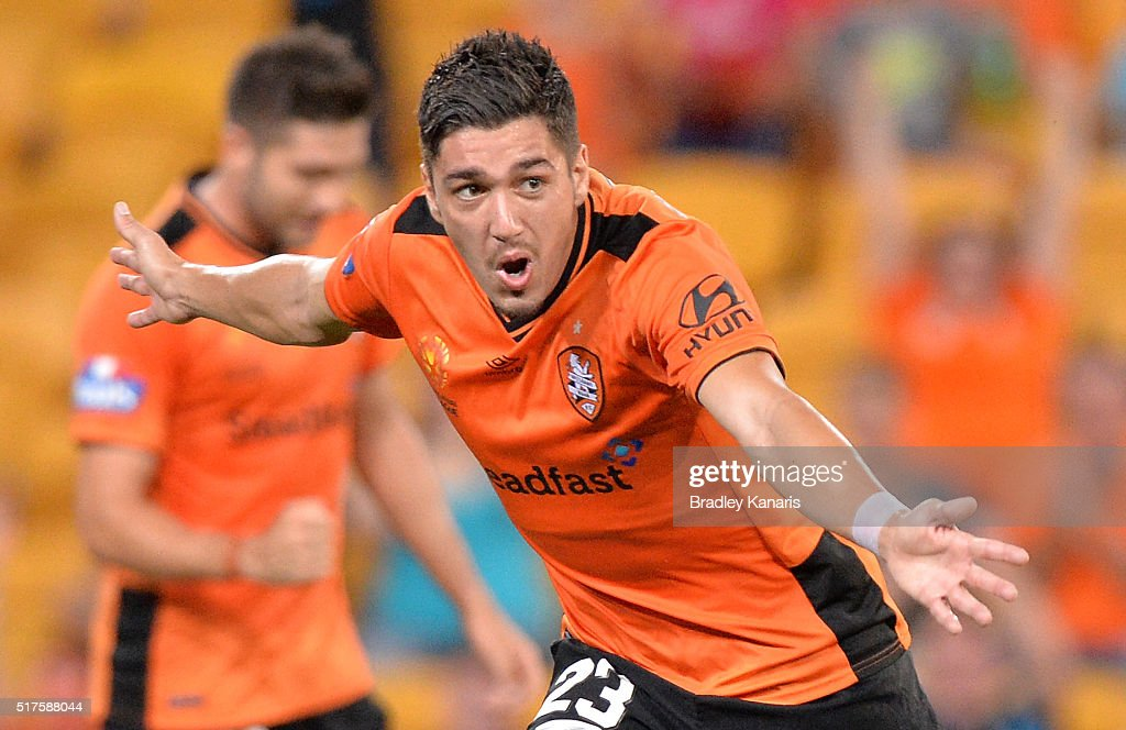 A-League Rd 25 - Brisbane v Sydney