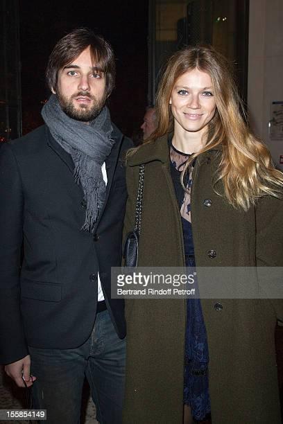Dimitri Rassam and his wife Masha Novoselova attend 'La Petite Veste Noire' Book Launch Hosted By Karl Lagerfeld & Carine Roitfeld at Grand Palais on...