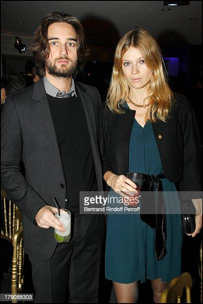 Dimitri Rassam and wife Masha at Fundraising Aem Dinner Held At L'Espace Cardin In Paris In Aid Of Rwandan Children.
