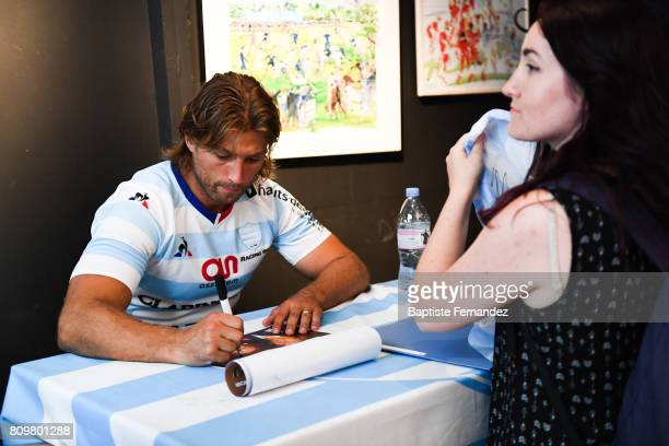 Dimitri Szarzewski of Racing 92 during press conference of Racing 92 on July 6 2017 in Paris France