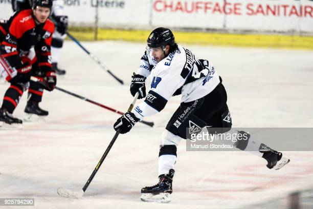 Dimitri Thillet of Gap during the Magnus League Playoff match between Bordeaux and Gap on February 28 2018 in Bordeaux France