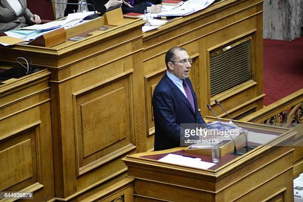 Dimitrios Kammenos speaker of the Independent Greeks