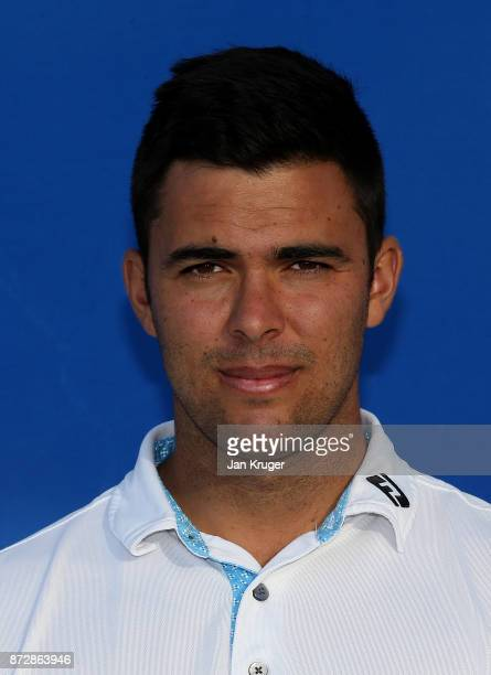 Dimitrios Papadatos of Australie during the first round of the European Tour Qualifying School Final Stage at Lumine Golf Club on November 11 2017 in...