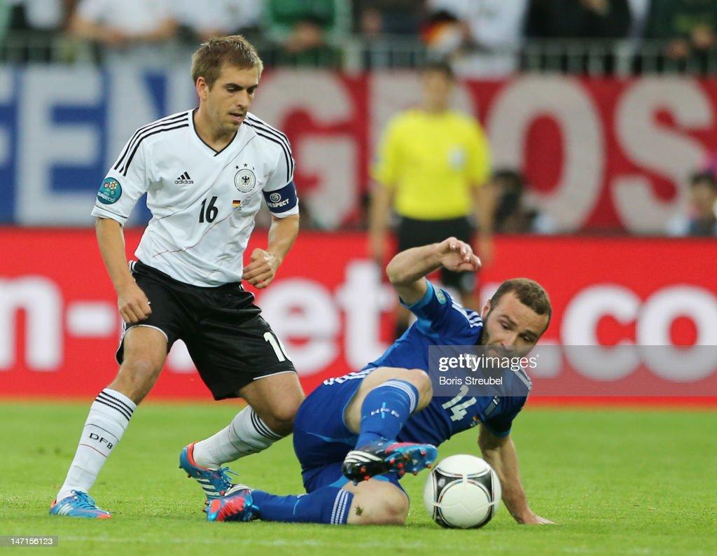 Germany v Greece - UEFA EURO 2012 Quarter Final