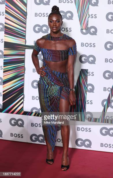 Dina Asher Smith attends the GQ Men Of The Year Awards 2021 at Tate Modern on September 01, 2021 in London, England.