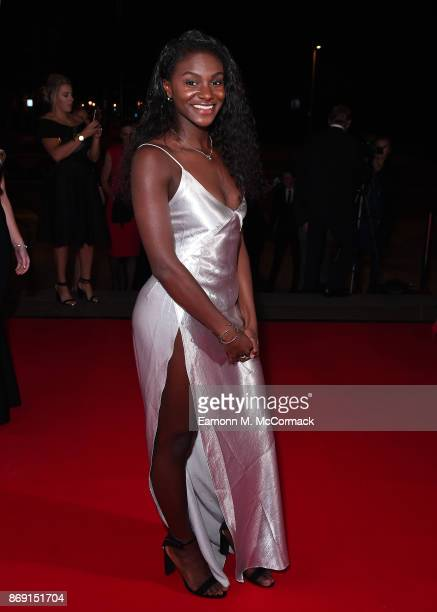 Dina Asher Smith attends the Team GB Ball at Victoria and Albert Museum on November 1 2017 in London England