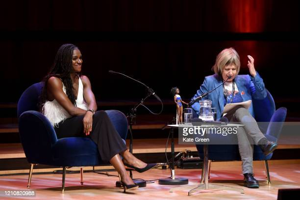 Dina AsherSmith and Jude Kelly during the WOW Women of the World Festival 2020 at Southbank Centre on March 06 2020 in London England