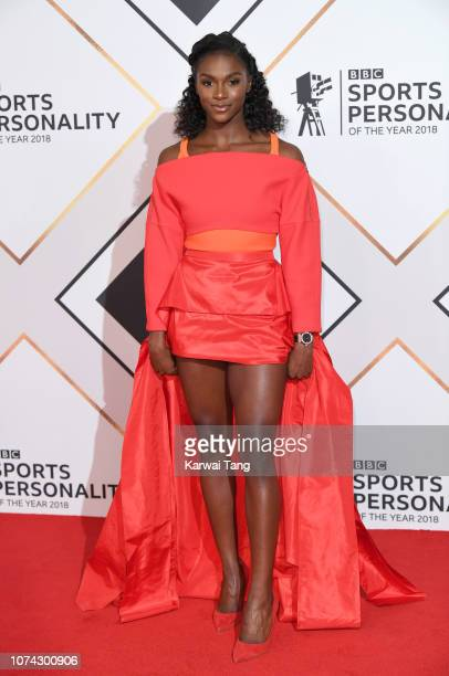 Dina AsherSmith attends the 2018 BBC Sports Personality Of The Year at The Vox Conference Centre on December 15 2018 in Birmingham England