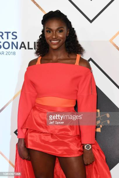 Dina AsherSmith attends the 2018 BBC Sports Personality Of The Year at The Vox Conference Centre on December 16 2018 in Birmingham England