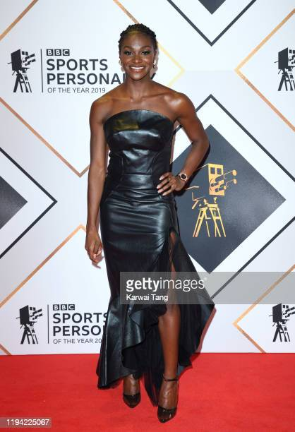 Dina AsherSmith attends the BBC Sport Personality of the Year 2019 at PJ Live Arena on December 15 2019 in Aberdeen Scotland