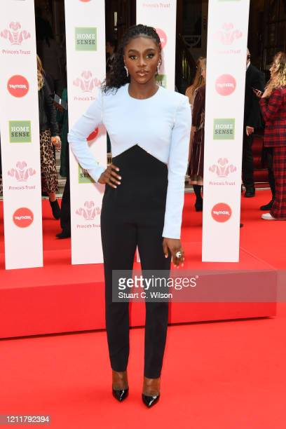 Dina AsherSmith attends the Prince's Trust And TK Maxx Homesense Awards at London Palladium on March 11 2020 in London England