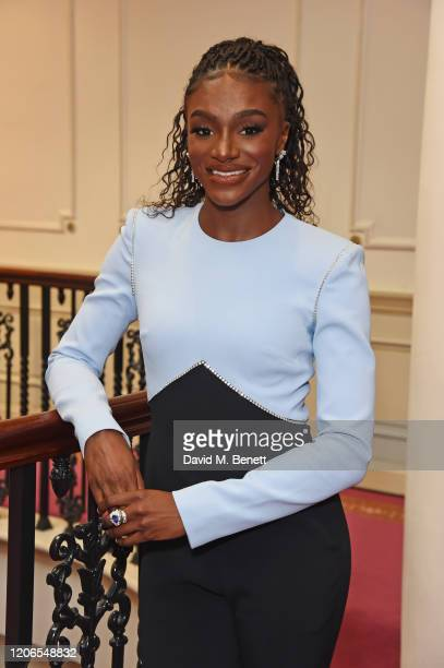 Dina AsherSmith attends The Prince's Trust and TKMaxx Homesense Awards at The London Palladium on March 11 2020 in London England