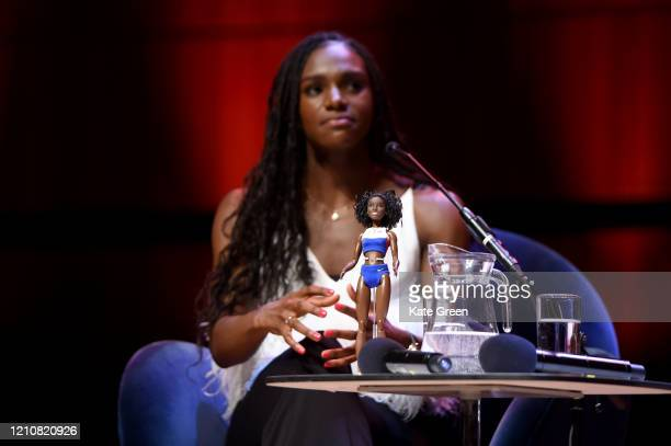 Dina Asher-Smith during the WOW Women of the World Festival 2020 at Southbank Centre on March 06, 2020 in London, England.