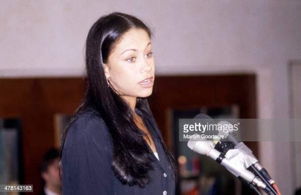 Dina Carroll Mercury Music Awards London United Kingdom 1996