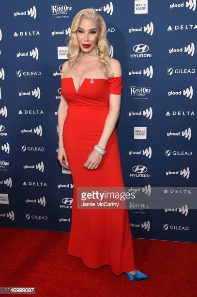 Dina Delicious attends the 30th Annual GLAAD Media Awards New York at New York Hilton Midtown on May 04 2019 in New York City