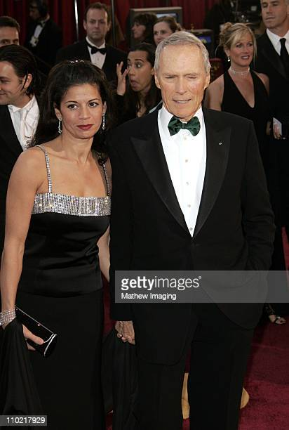 Dina Eastwood and Clint Eastwood nominee Best Actor in a Leading Role for Million Dollar Baby
