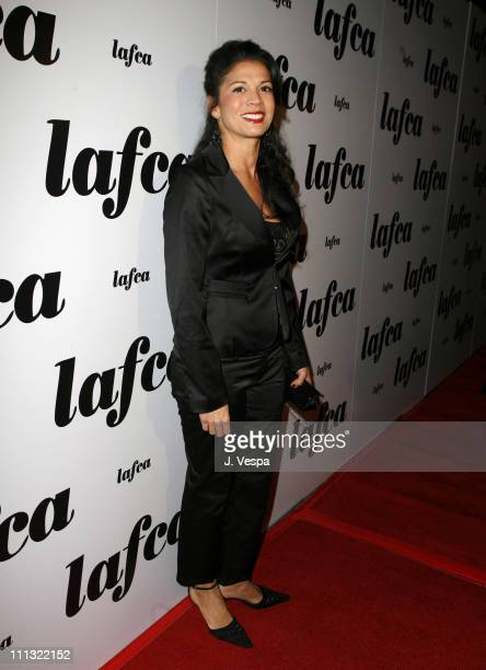 Dina Eastwood during The 32nd Annual Los Angeles Film Critics Association Awards Red Carpet in Century City California United States