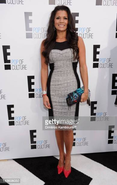 Dina Eastwood of Mrs Eastwood Company attends E 2012 Upfront at NYC Gotham Hall on April 30 2012 in New York City
